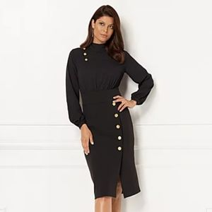 Eva Mendes Lina Sheath Dress NWT